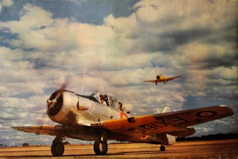 North American Harvard IIAs - In Southern Rhodesia Poster