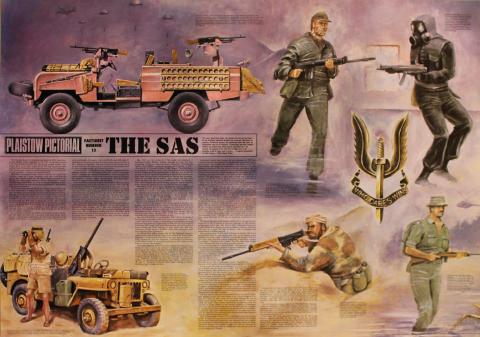 Plaistow Pictorial Factsheet Number Thirteen: The SAS Poster