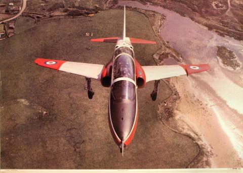 British Aerospace Hawk Poster