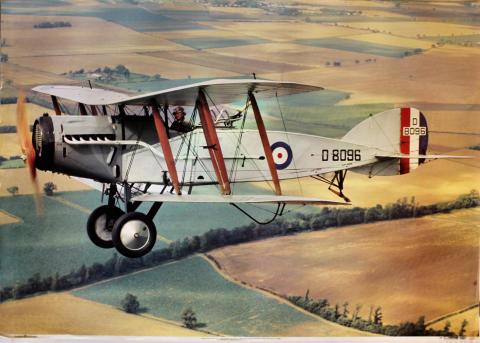 Bristol Fighter F2b Poster