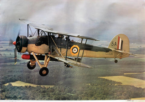 Fairey Swordfish of the Royal Navy Poster