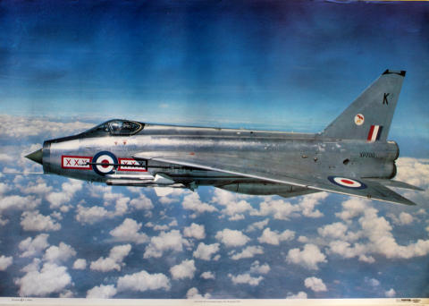 Lightning Mk3A Poster