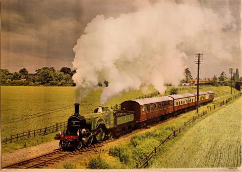 GNR 4-2-2 Patrick Stirling No. 1 Poster