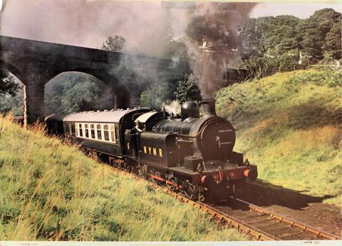 North Yorkshire Moors Railway No. 5 Poster