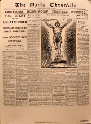 The Daily Chronicle May 10, 1915 Poster