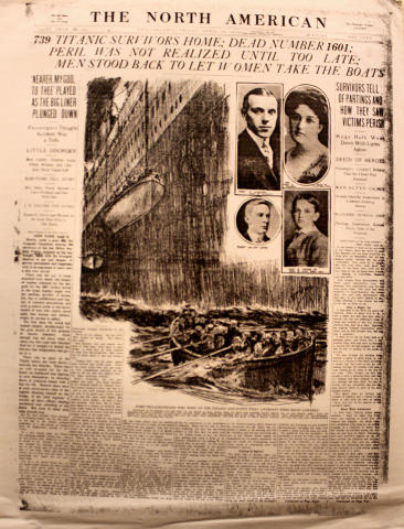 The North American April 19, 1912 Poster