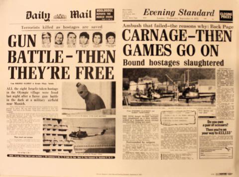 Daily Mail / Evening Standard September 6, 1972 Poster
