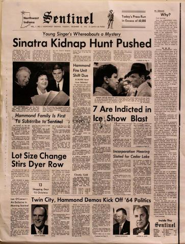 Sentinel December 10, 1963 Poster