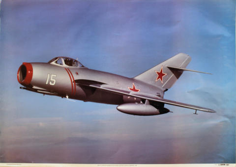 MiG 15 Poster