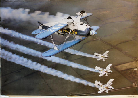 Rothmans Pitts Special Poster