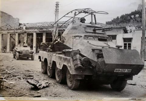 8-wheeled Schwerer Panzerspahwagen SdKfz 232 Poster