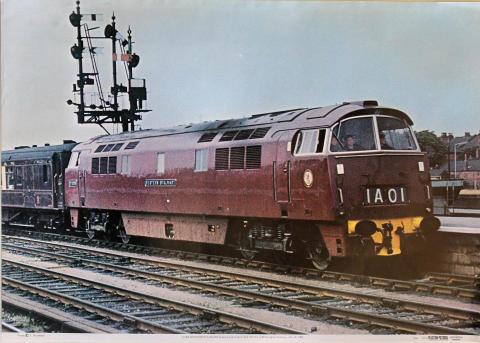 D1006 Western Stalwart Poster