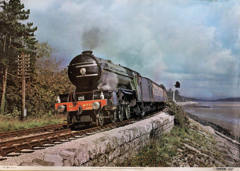 LNER Class V2 No. 4771 'Green Arrow' Poster
