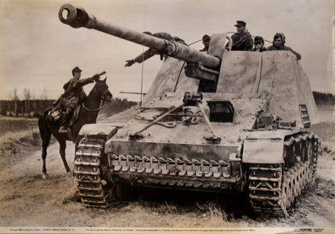 German Armour Series No. 12 Poster