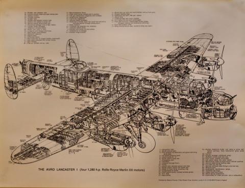 The Avro Lancaster I Poster