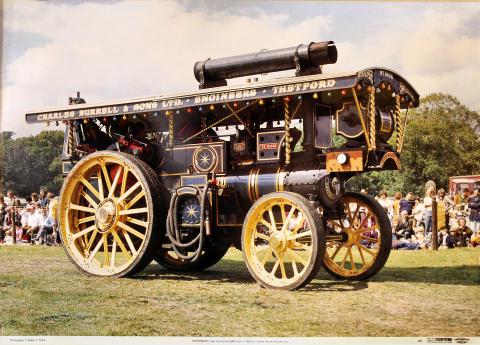 Showmans Road Locomotive 4000 Poster
