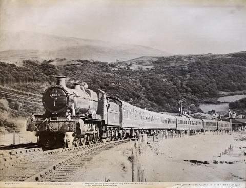 7801 Anthony Manor, 7800 Class Manor 4-6-0 Poster