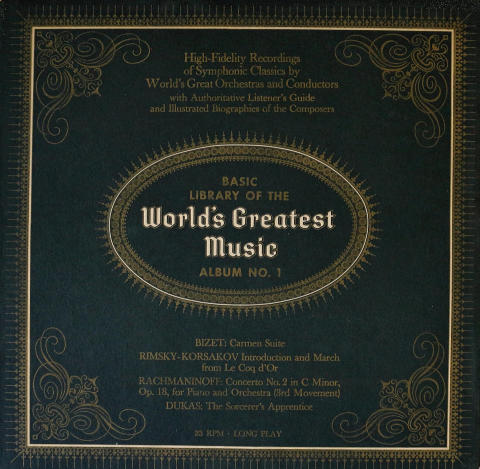 Basic Library of the World's Greatest Music Vinyl 12""
