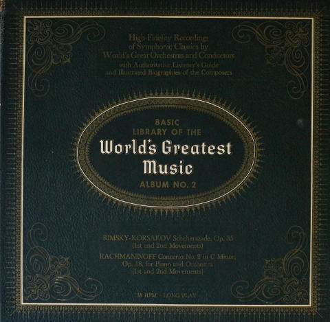 "Basic Library of the World's Greatest Music Vinyl 12"""