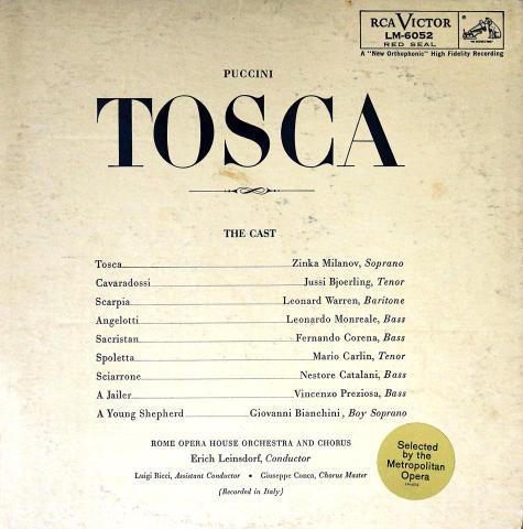 """Tosca Vinyl 12"""""""