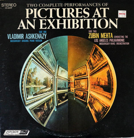 """Pictures at an Exhibition Vinyl 12"""""""