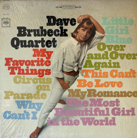 "Dave Brubeck Quartet Vinyl 12"""