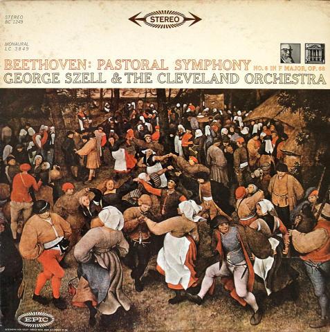 "George Szell & The Cleveland Orchestra Vinyl 12"""