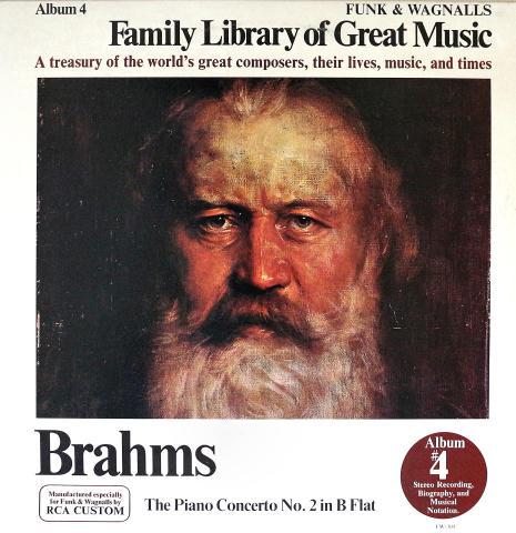 """Brahms Vinyl 12"""""""