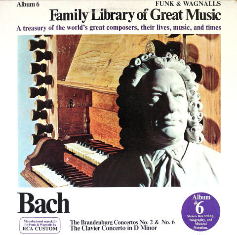 "Bach Vinyl 12"""