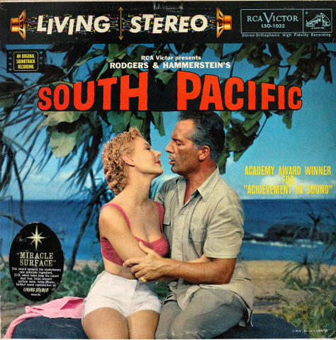 "South Pacific Vinyl 12"""
