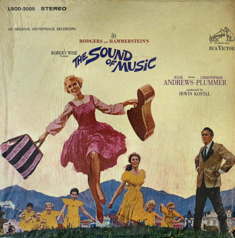 The Sound of Music Vinyl 12""