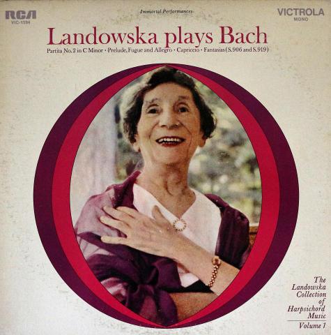 """Wanda Landowska Vinyl 12"""""""