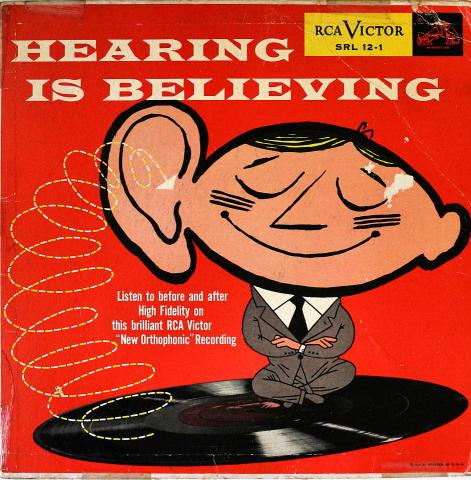 "Hearing Is Believing Vinyl 12"""
