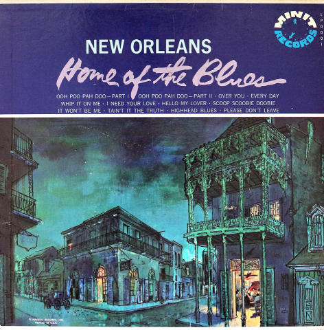 """New Orleans: Home of the Blues Vinyl 12"""""""