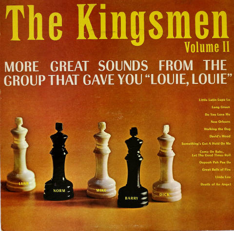 """The Kingsmen Vinyl 12"""""""