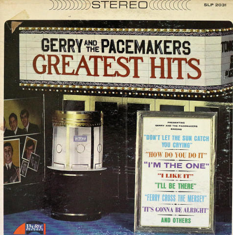 """Gerry & the Pacemakers Vinyl 12"""""""