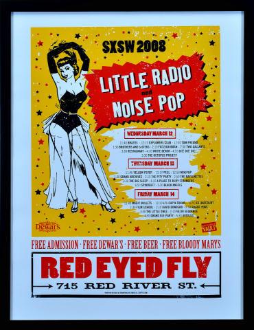Little Radio & Noise Pop Party Framed Poster
