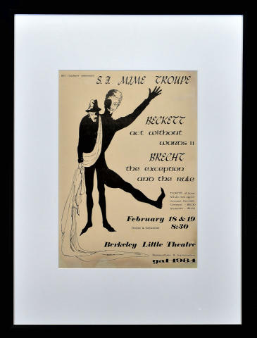 San Francisco Mime Troupe Framed Poster