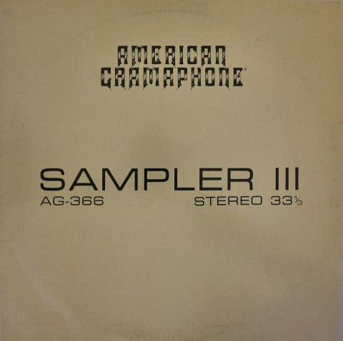 "American Gramaphone Vinyl 12"""