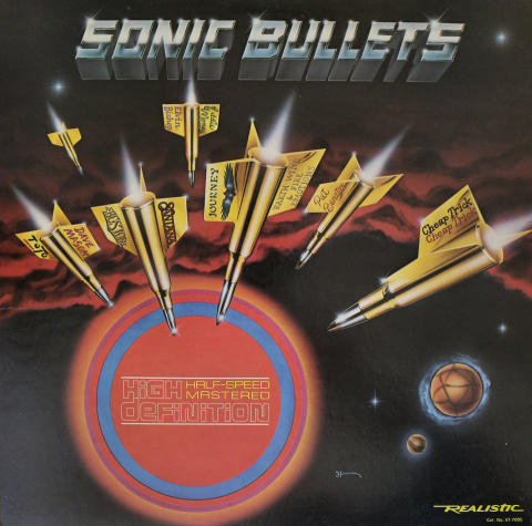 "Sonic Bullets Vinyl 12"""