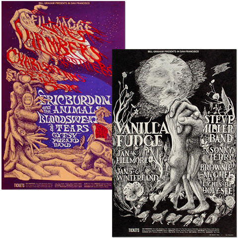 Many Hands of Lee Conklin Poster Set