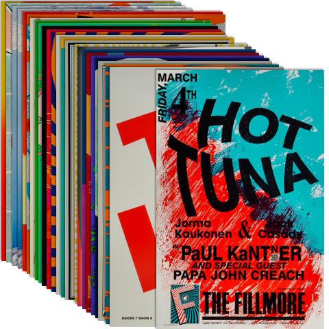 Fillmore Starter #1 Poster Set