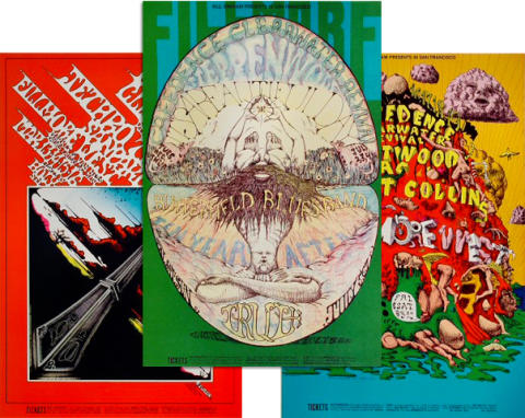 Creedence Clearwater Revival Poster Set