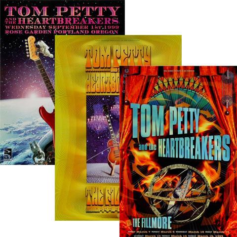 Tom Petty Poster Set