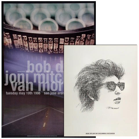 Bob Dylan Poster Set