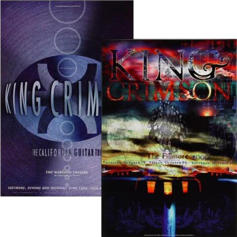 King Crimson Poster Set