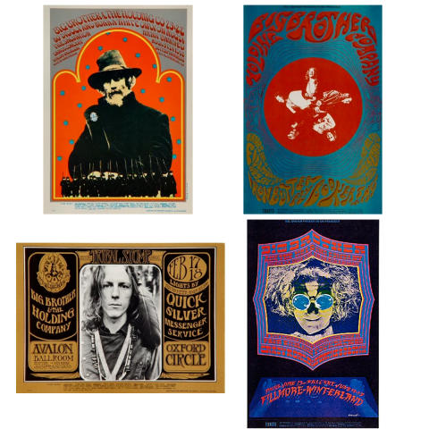 Big Brother and the Holding Company Postcard Set