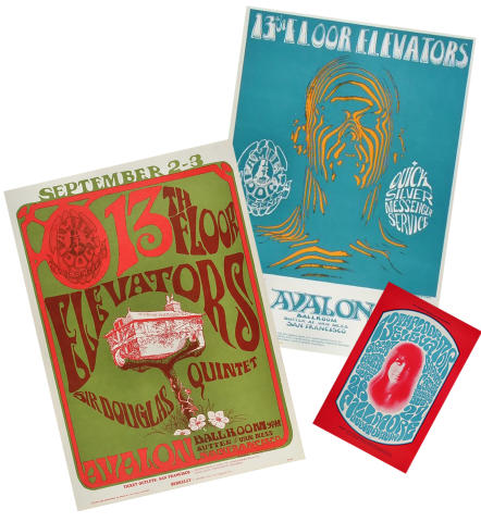 13th Floor Elevators Poster/Postcard Set