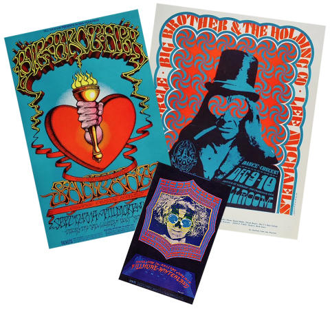 Big Brother & The Holding Company Poster Set