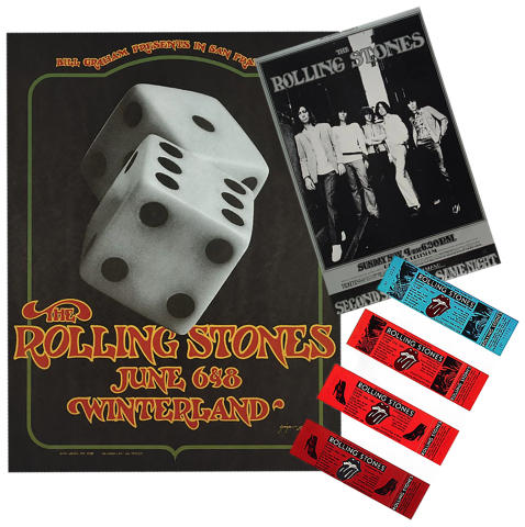 The Rolling Stones Poster Set